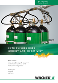 Fire extinguishing FirExting with Inert gases