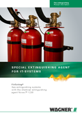 Fire extinguishing FirExting with Novec